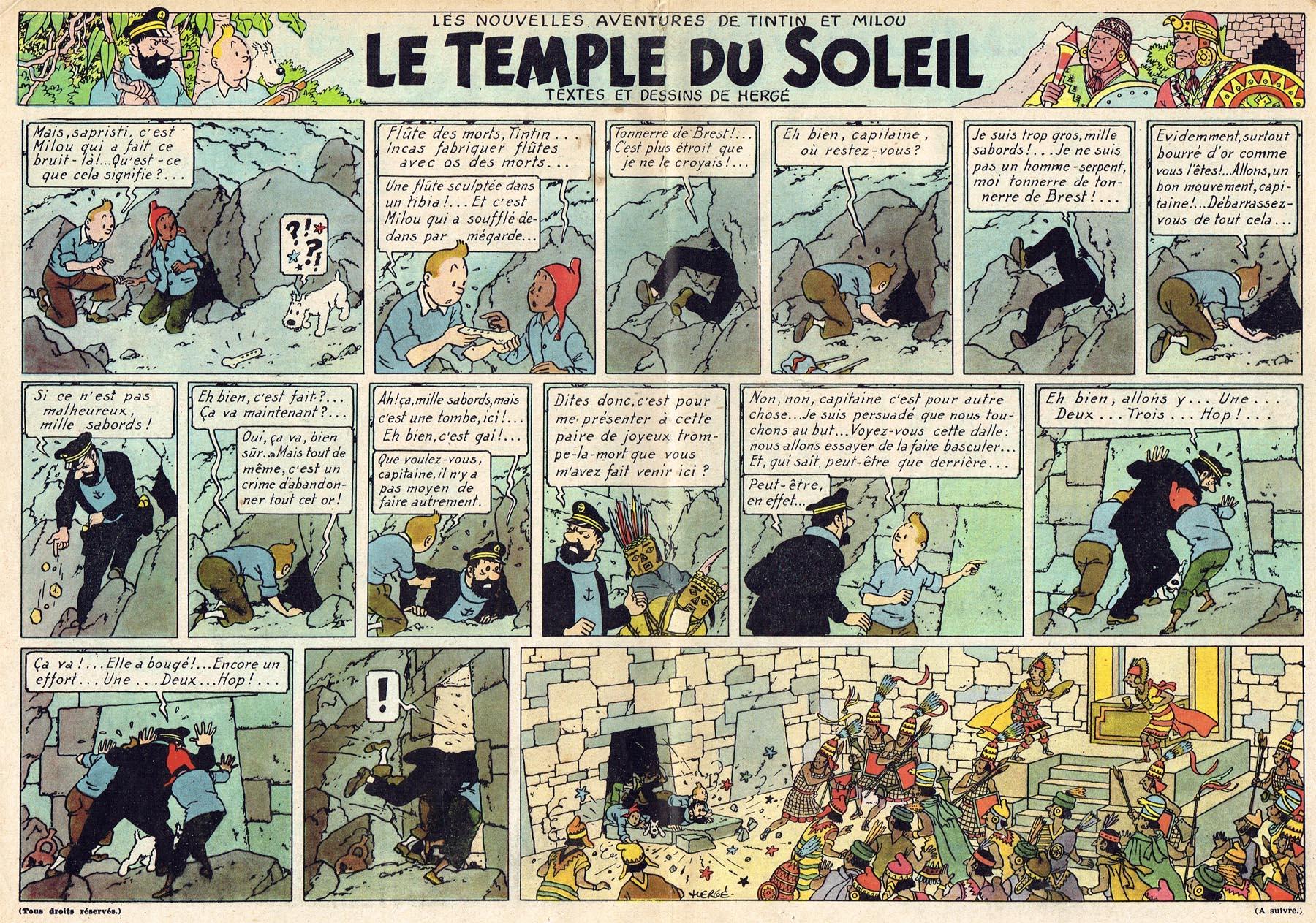 61 tintin guismai - Les portes du penitencier version originale ...